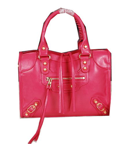 Balenciaga Small Gaint Gold Part Time Bag 90355 Red