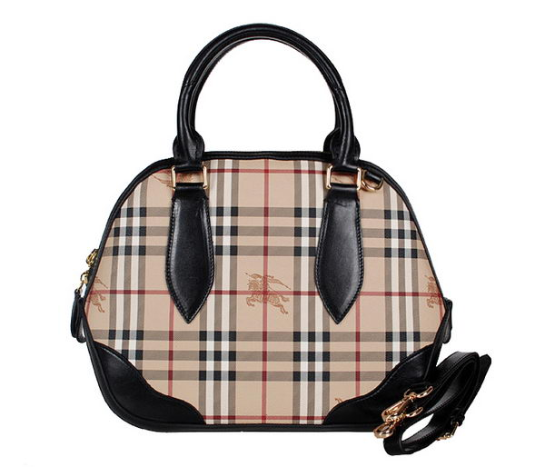 BurBerry Large Orchard Bag in Haymarket Check 6058 Black
