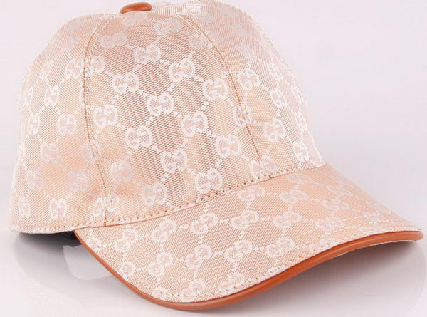 Gucci Peaked Cap GG45 Pink