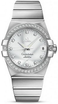 Omega Constellation Chronometer 38mm Watch 158630E
