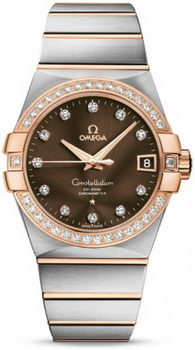 Omega Constellation Chronometer 38mm Watch 158630Q