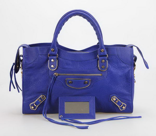 Balenciaga Large Classic Part Time Bags B085332 Blue