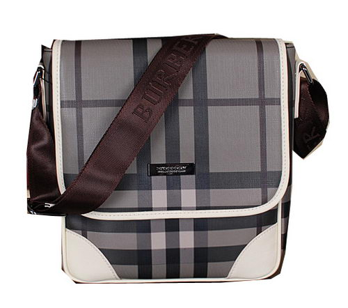BurBerry Smoked Messenger Bag B2012 OffWhite