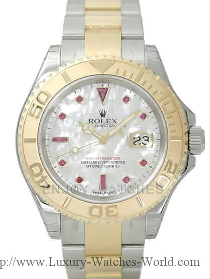 Rolex Yachtmaster 18k & SS RX186