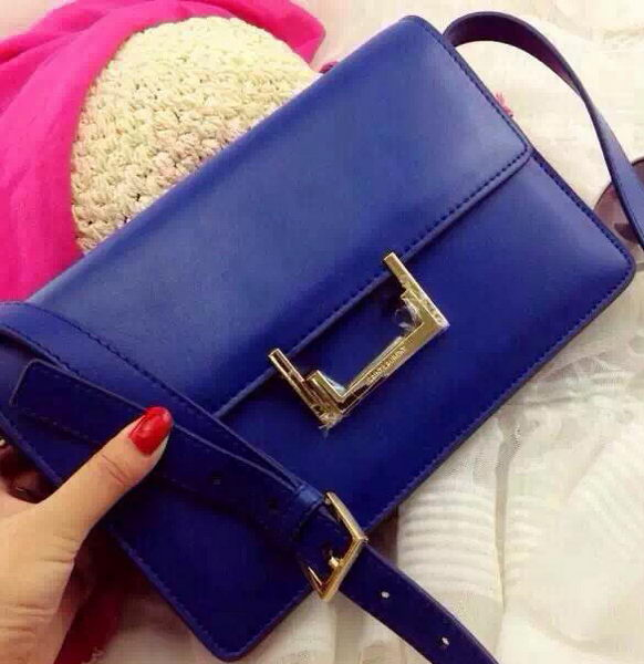 Yves Saint Laurent Classic Medium Lulu Bag Y336066 Blue