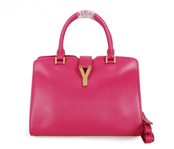 Yves Saint Laurent Small Cabas Chyc Bag in Clafskin YSL8336 Rose