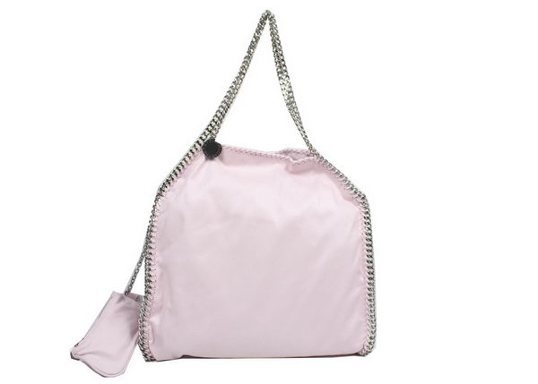Stella McCartney Falabella PVC Fold Over Tote Bag 811 Light Pink