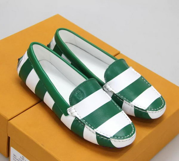 Tods Casual Shoes Leather TO303 Green