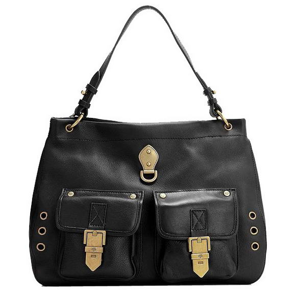 Mulberry Tillie Shoulder Tote Bag M7905 Black