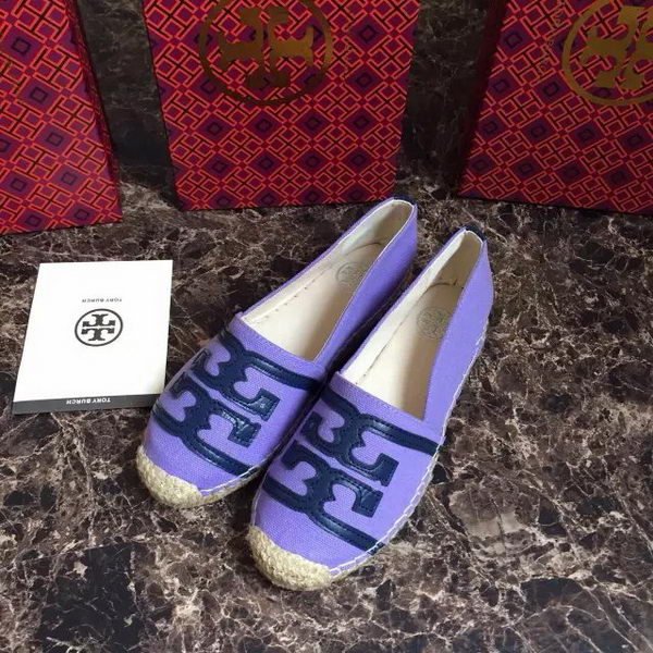 Tory Burch Casual Shoes Canvas TB1512 Lavender