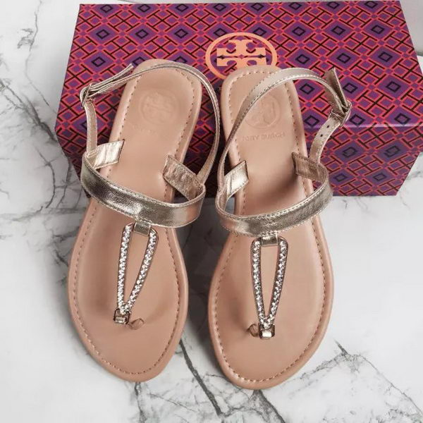 Tory Burch Sandals Leather TB1515 Gold