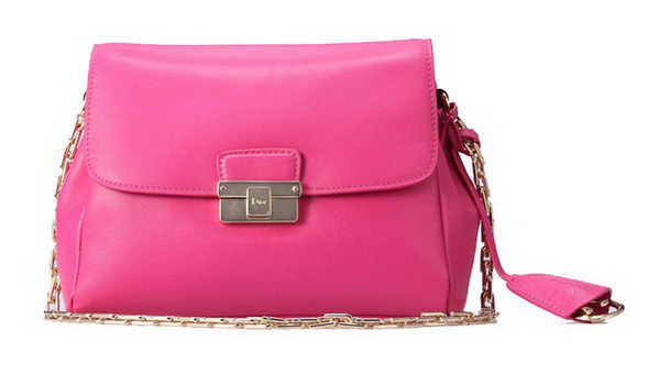 Dior Small DIORLING Bag in Original Calf Leather D040 Rose