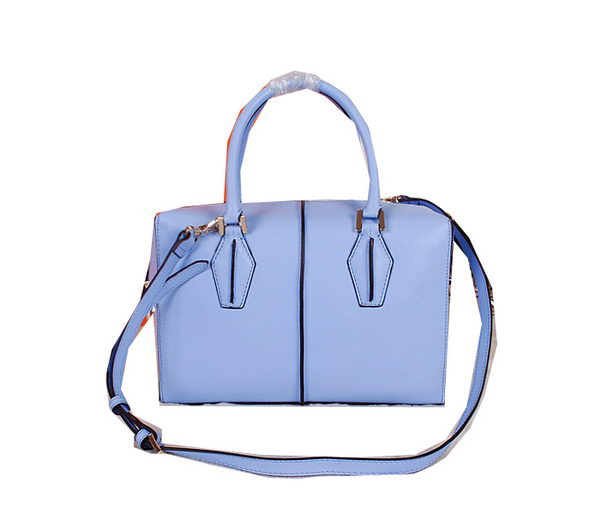 Tods Sella Small Bowler Bag 88790 SkyBlue