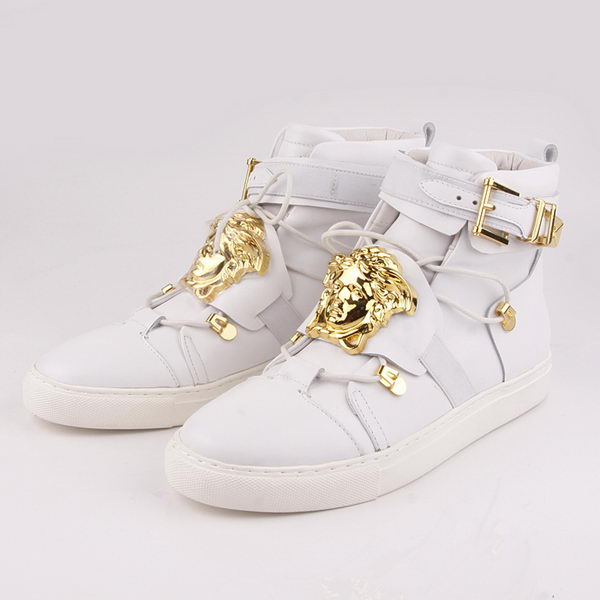 Versace Sneakers Sheepskin Leather VC42 White