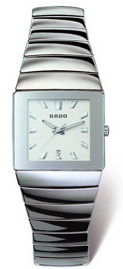 Rado Sintra Series Ceramic Quartz Unisex Watch R13332142 in White