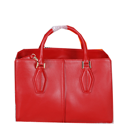 Tods Sella Small Bowler Bags 373006 Red