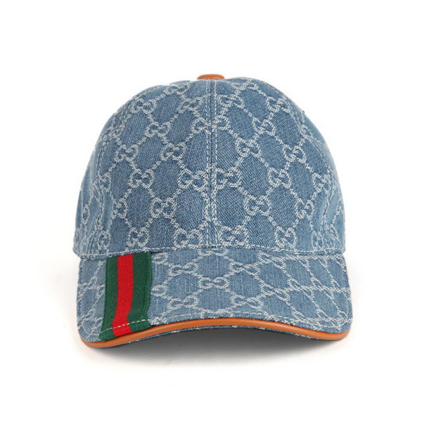 Gucci Hat GG18 Blue