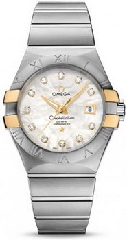 Omega Constellation Brushed Chronometer Watch 158625A