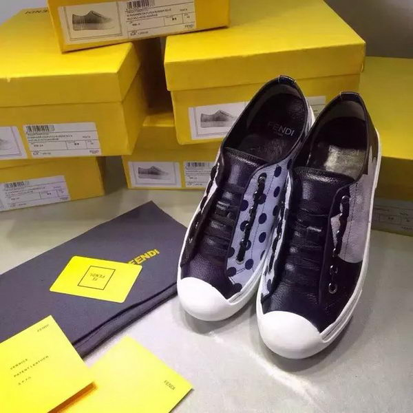 Fendi Casual Shoes FD86 Black&White