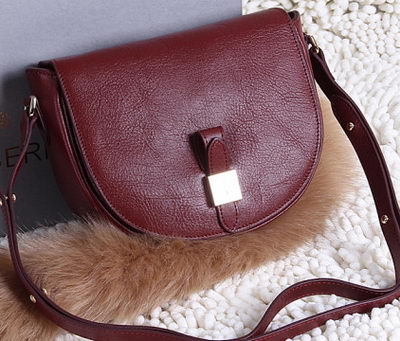 Mulberry Tessie Small Satchel Soft Grain Leather 2641 Burgundy