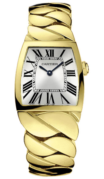 Cartier La Dona 18k Yellow Gold Midsize Ladies Wristwatch-W640010H