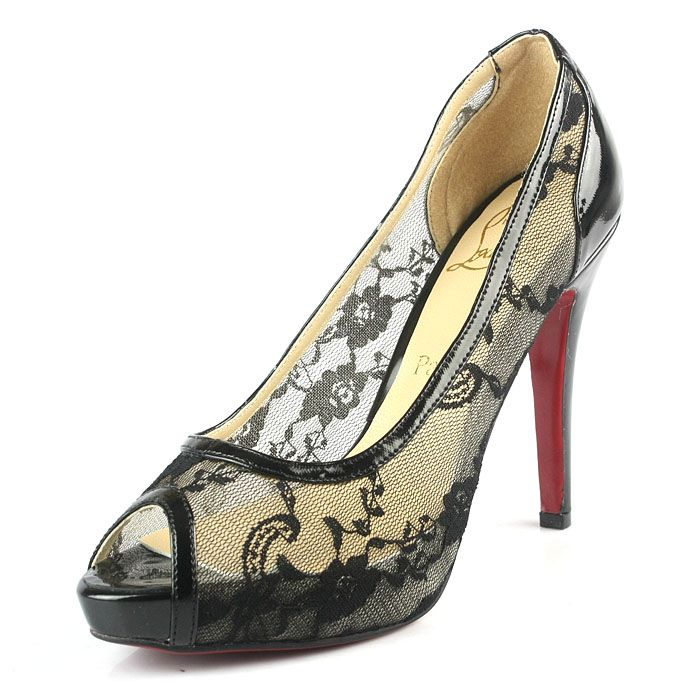 Christian Louboutin Pumps CL9681 Black Lace