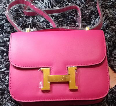 Hermes Constance Bag Smooth Leather H9998S Rose