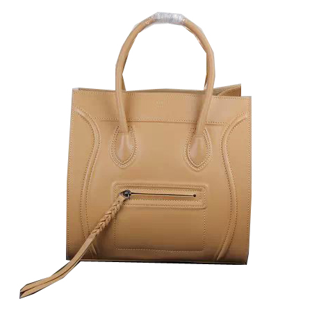 Celine Luggage Phantom Bags Smooth Leather Ci3341 Apricot