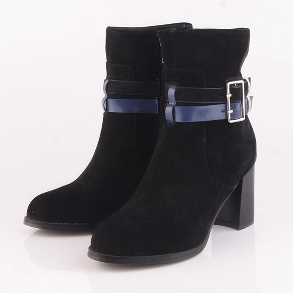 Dior Suede Leather Ankle Boot Dior0236 Black