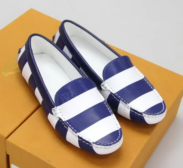 Tods Casual Shoes Leather TO303 Blue