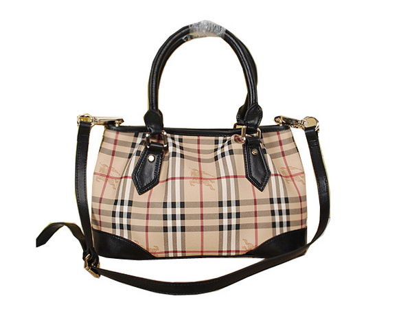 BurBerry Medium Orchard Bag in Haymarket Check 92271 Black