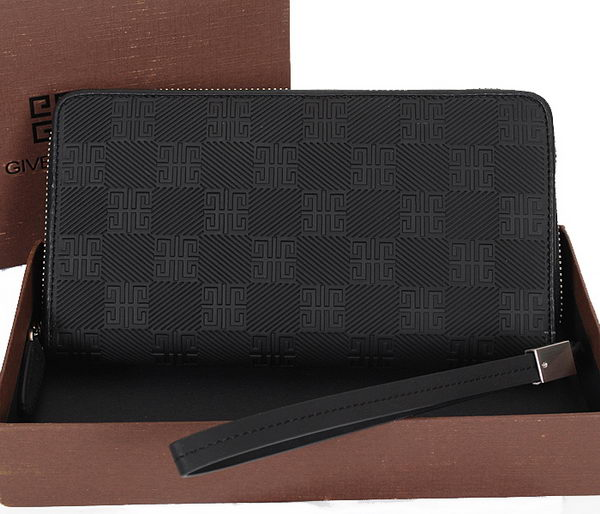 Givenchy Calfskin Leather Clutch 8010 Black