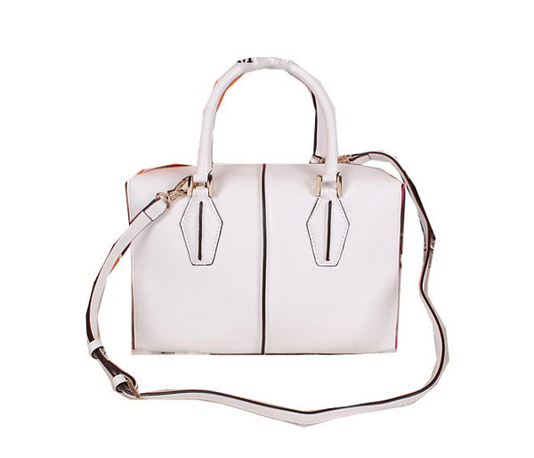 Tods Sella Small Bowler Bag 88790 White