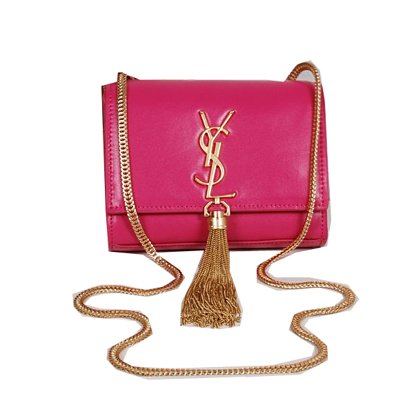 Yves Saint Laurent MINI Monogramme Cross-body Shoulder Bag Rose