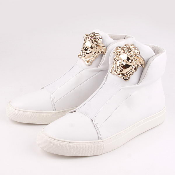 Versace Sneakers Sheepskin Leather VC44 White