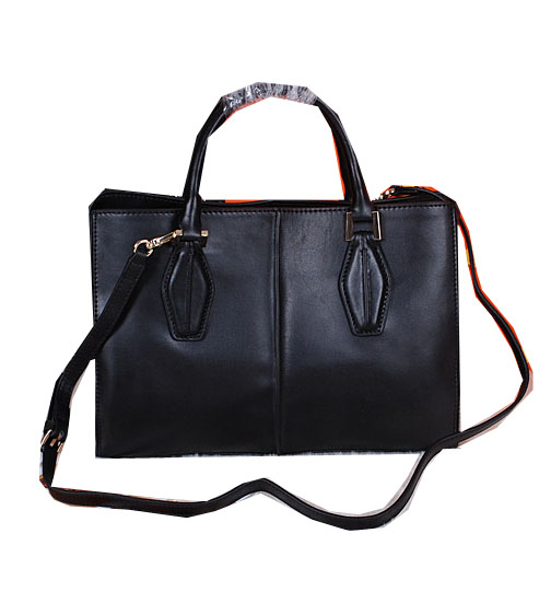 Tods Sella Small Bowler Bags 373006 Black