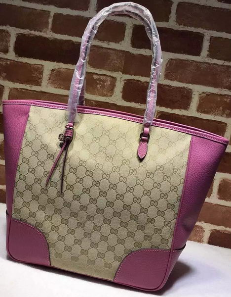 Gucci Bree Original GG Canvas Tote Bag 323671 Purple