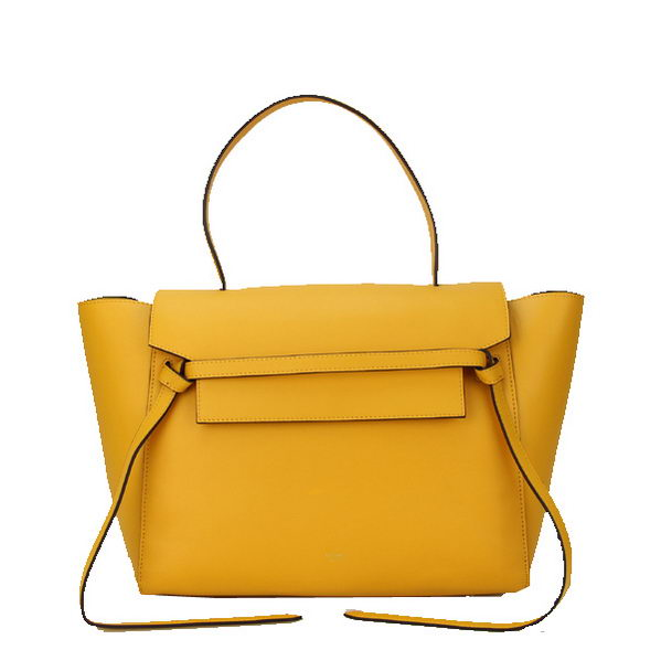 Celine Belt Bag Smooth Calfskin Leather C3345 Yellow