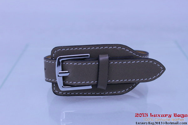 Hermes Genuine Leather Bracelet H1135_2