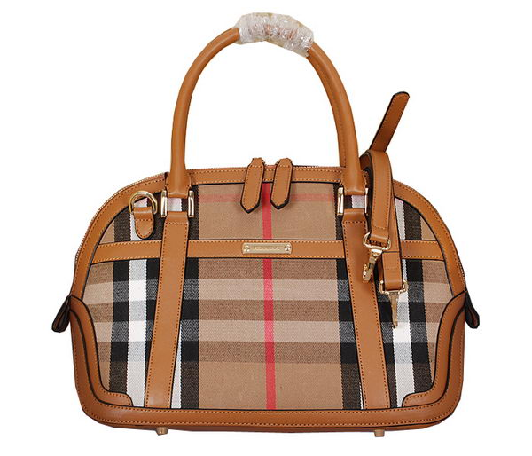 BurBerry House Check Cotton Twill Bag 38537721 Wheat