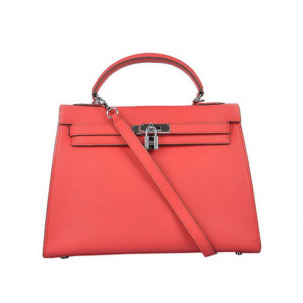 Hermes Kelly 32cm Bags Togo Leather Light Red