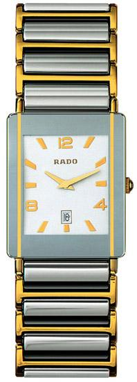 Rado Integral Series 18kt Yellow Gold Quartz Mini Ladies Watch R20282232