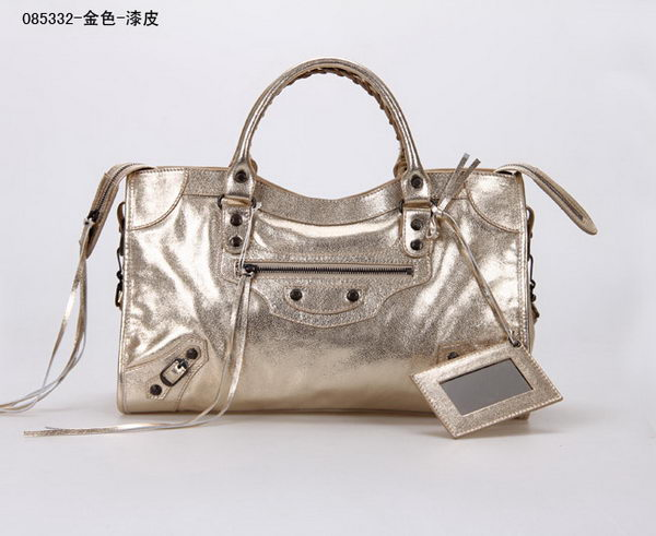 Balenciaga Large Classic Part Time Bags B085332 Gold