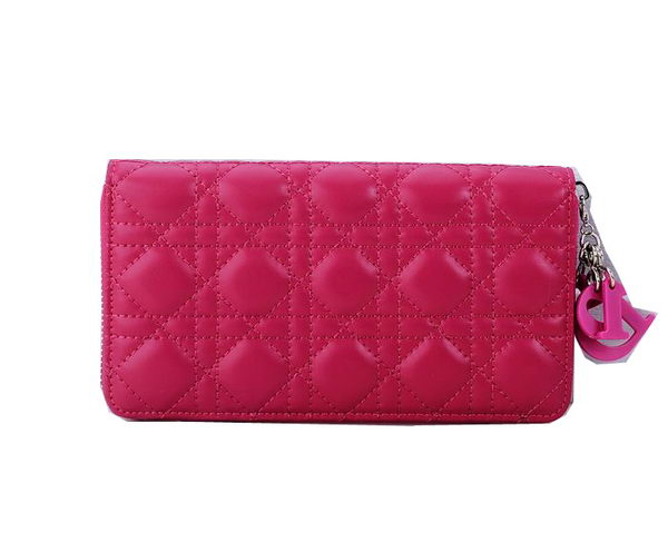 Lady Dior Escapade Wallet Sheepskin Leahter CD1098 Rose