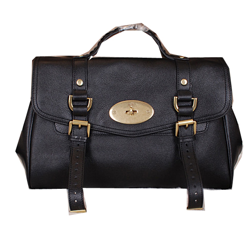 Mulberry Alexa Bayswater Bags Calfskin Leather 7539M Black