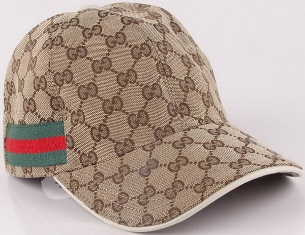 Gucci Peaked Cap GG46 Green