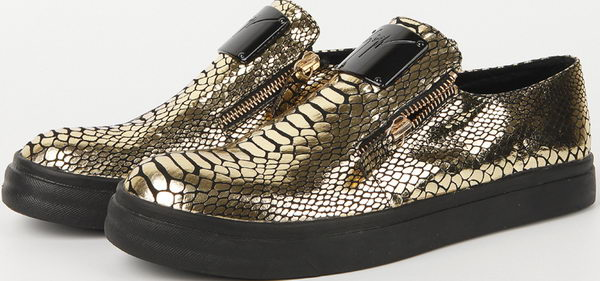 Giuseppe Zanotti Casual Shoes Snake Leather GZ0382 Gold