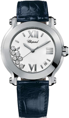 Chopard Happy Sport Series Stainless Steel Ladies Swiss Quartz Watch 278475