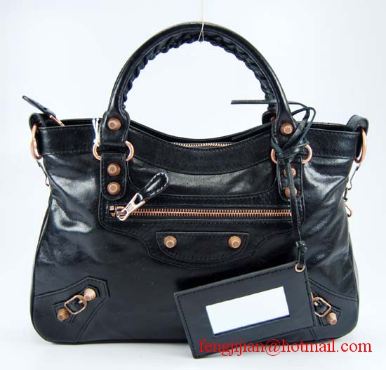 Balenciaga Arena City Classic Bag 240557C Black