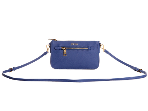Prada Saffiano Leather Mini Bag BT0834 Violet